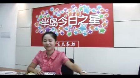 小影星杨紫做客半岛晨报 05