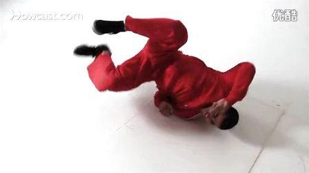 【粉红豹】街舞教学(16)BBOY练Breaking_背转接baby_windmill