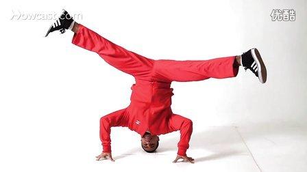 【粉红豹】街舞教学(18)BBOY练Breaking_做头转的四个要点