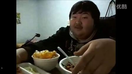 【粉红豹】重口味啊!一个韩国胖子吃饭准备的全过程!毁三观!