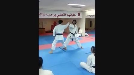 中達也師範 2013年11月迪拜1