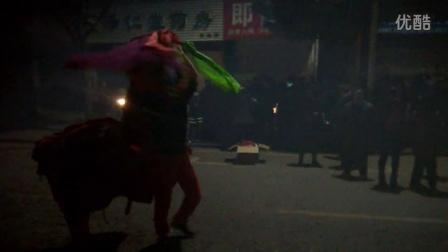 【2015正月十五】武汉市黄陂区李集街陈家岗醉狮犟狮子『关公戏双狮子』
