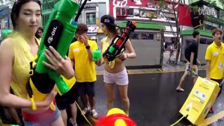 WGF 2015 首尔新村 水枪节
