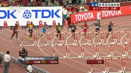 世锦赛男子110米栏舒本科夫夺冠 被誉欧洲刘翔
