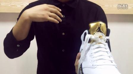 哲哲鞋评 新货抢先看之AJ5金牌配色 Air Jordan 5