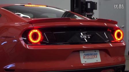 新款野马 安装 Raxiom Halo LED 圆式尾灯