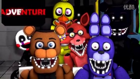[FNAF SFM]玩具熊的五夜后宫--FNAF世界篇预告片观看反应_综合_动画_bilibili_