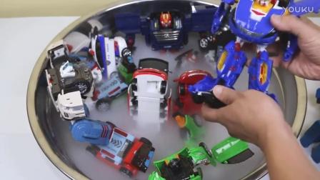 卡博特 干冰 玩具汽车Carbot Tobot MiniForce 汽车转型机器人汽车 小汽车玩具游戏  机器人的新时代,一个新系列OPTIMUS   小儿科