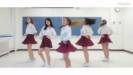 【貂2蝉】美女舞团韩舞热舞翻跳【miXx】GFriend - Navillera