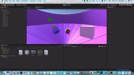 【Unity3D】如何制作艺术与物理的结晶:舞动盒子