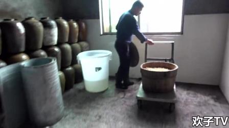 农村小伙纯手工酿酒,女儿红原来是这样酿出来的