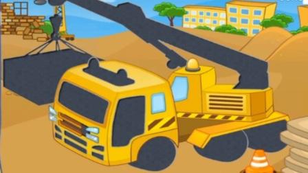 玩具组装、土方车搅拌车 儿童挖掘机视频表演 工程玩具车