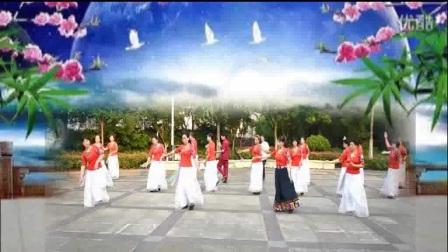 春之韵广场舞《最美的遇见》团队演示