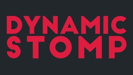 快速顿感节奏文字排版幻灯照片展示AE模板Dynamic Stomp