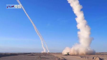 解放军防空演习S-300导弹齐射