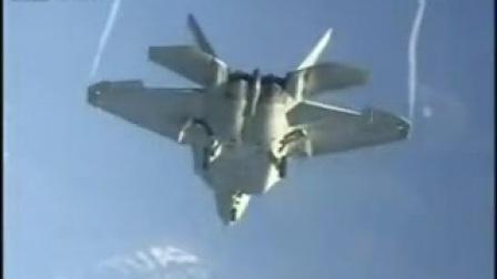 F22猛禽战斗机首次试飞曝光,在当时就像外星科技