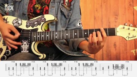 重金属主奏电吉他教学No.33《练习曲#3讲解》RIFF