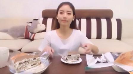 [自制视频][萌妹肖肖] 抹茶奥利奥千层蛋糕(首播)