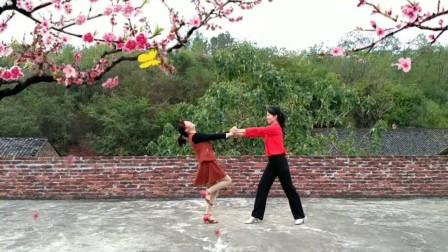 湖南衡阳富友广场舞《三生石上一滴泪》中秋特献休闲慢四 双人舞交谊舞