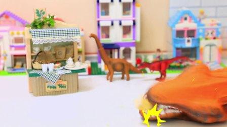 恐龙破坏王: 森贝儿家族兔子餐厅