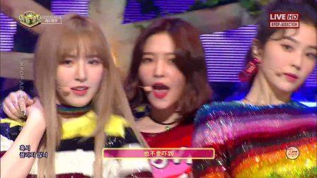 【HD/中字】Red Velvet - Peek A Boo《人气歌谣现场版》