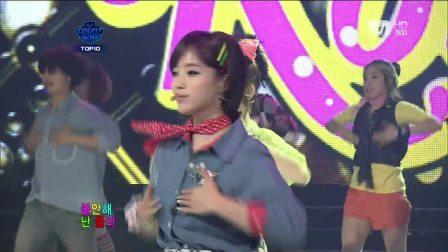 110714 T-ara--Roly Poly Mnet M!Countdown MCD 1080p tara
