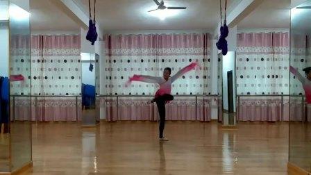 清清美 粉色水袖版《七绣坊》编舞:茜茜