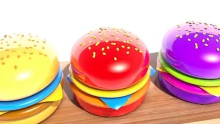 制作汉堡和蛋糕玩具视频  制作冰淇淋和薯条玩具模具视频16