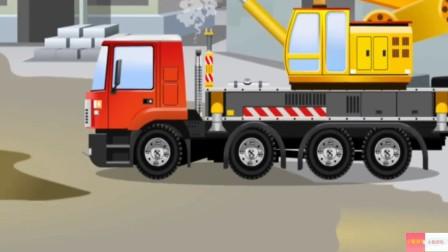 挖掘机视频表演6工程车儿童车儿童汽车挖掘机