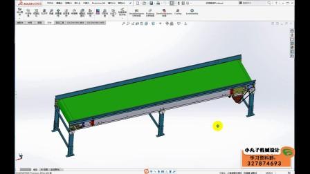 减速电机的选型计算(皮带输送机为例)SW非标机械设计课堂