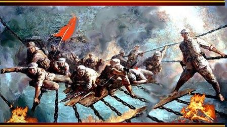 《红军22勇士飞夺泸定桥》