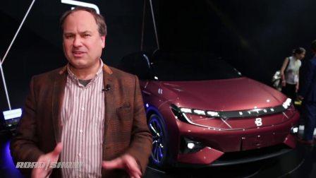 【AutoOrigina】拜腾 纯电动SUV 2018 CES首发现场