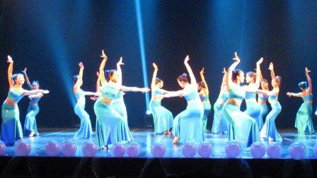 傣族舞蹈【水色】云南民族大学 少数民族舞蹈大赛