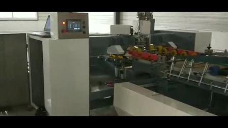 河北昌腾全自动钉箱机工厂使用视频