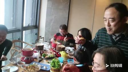 18年春节家人聚会(解放碑威斯汀)!