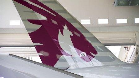 卡塔尔航空首架A350-1000成长记录