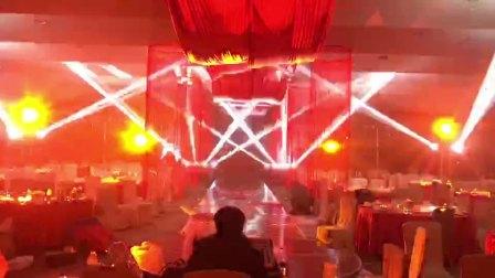 华建婚礼灯光秀