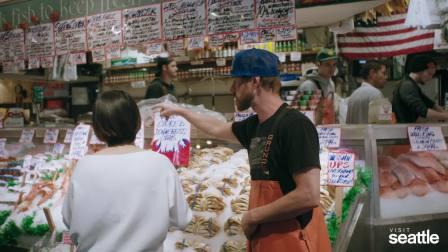 西雅图旅行体验之派克市场