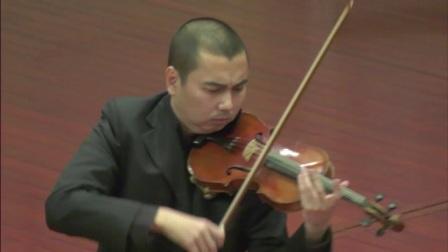 刘自力小提琴作品音乐会 《美丽的西双版纳》《 喜庆》 演奏:曲克 钢琴:吴爽