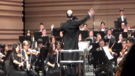 俞峰指挥宁波交响乐团演绎贝多芬《英雄交响曲》,第四乐章及谢幕片段