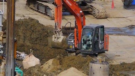 日本建筑工地工程机械