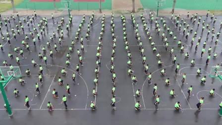 桓台县实验学校教育集团唐山分校 阳光大课间绳操展示
