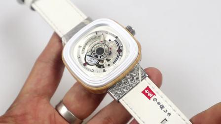 时诚谈表SV厂七个星期五,日本樱花之国限量版腕表