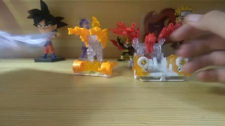 (雷古曼制作)首发!爆裂飞车3兽神合体 特别版御星神!
