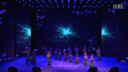 深圳舞蹈网成人暑期汇报演出节目古典舞《扇之灵•花之雨》2016年