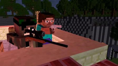 我的世界动画-史蒂夫的丧尸末日-01-CrazyDek