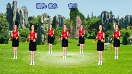 舞动梓州新鲁广场舞《又见山里红》32步纯音乐