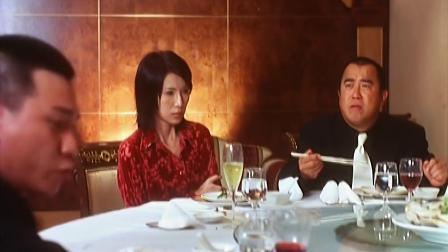 曾志伟霸气饭桌除叛徒,倒霉林雪误闯入被手下打惨