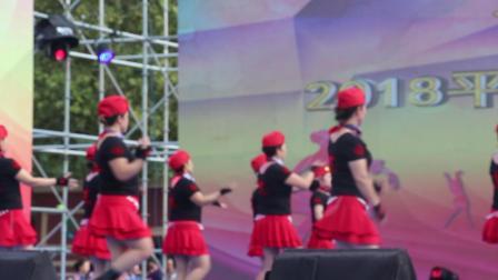 广场舞大赛【红红的线】
