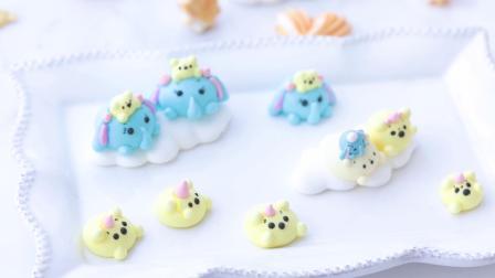 【糖语焙研|原创】马琳糖 蛋白糖 -超级好凹造型的蛋糕装饰神器